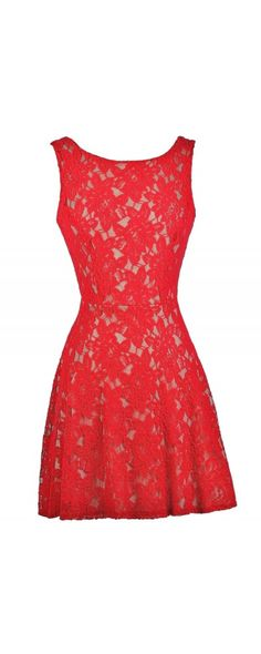 Lily Boutique Frankly Scarlet Red Lace Dress, $35 Cute Red Dress, Red Dress Boutique Dress, Red Lace Dress, Red Lace Party Dress www.lilyboutique.com