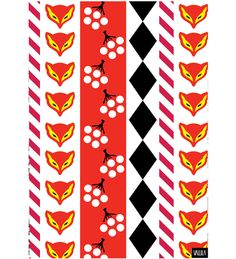 Vallila Karkkipäivä 50 x 70 cm keittiöpyyhe | Karkkainen.com verkkokauppa, 7,90€ Home Textile, Textile Design, Unique Curtains, Scandinavian Interior Design, Shop Interiors, Kitchen Towels, Cushion Covers, Fabric Patterns, Colorful Rugs