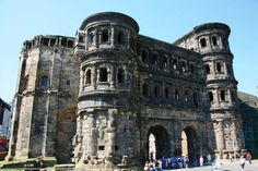 the Porta Negra in Trier.  Trier is over 2000 years old, older than Rome.  My grandfather's family is from this area.  Visited here many times as a kids.  Used to be able to go inside for tours.