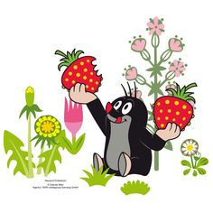 Wandtattoo Maulwurf Erdbeeren Source by The post Wandtattoo Maulwurf Erdbeeren appeared first on İde Drawing For Kids, Mole, Homestuck, Animal Paintings, Nursery Wall Art, Rock Art, Cartoon Characters, Childhood Memories, Wall Decals
