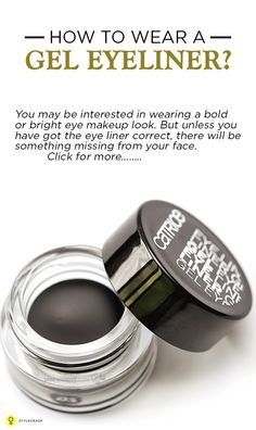 How To Wear A Gel #Eyeliner ?