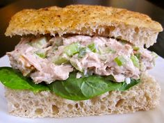 Yeild: Servings Per Recipe : 2 WW SmartPoints : 4 Ingredients : 1 can albacore tuna 2/3 cup non-fat cottage cheese 4 tablespoons plain low-fat yogurt 1/4 small red onion, chopped finely 1 stalk celery,