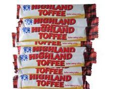 Highland Toffee - difficult to find these days but such a treat when you do stumble on this treasure. 70s Sweets, Vintage Sweets, Retro Sweets, Vintage Tv, 1970s Childhood, My Childhood Memories, Sweet Memories, English Sweets, Childhood