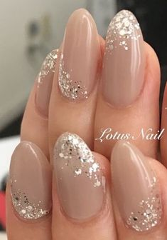 Nails BEAUTY NAILS 7 in 2020 bridal nails pretty nails nail designs - mollie Simple Wedding Nails, Wedding Nails Design, Nail Wedding, Plum Wedding, Wedding Nails For Bride, Wedding Hijab, Glitter Wedding, Simple Nails, Wedding Makeup