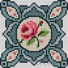 Gallery.ru / Фото #23 - Миниатюрные схемки - ksuxa24 Biscornu Cross Stitch, Cross Stitch Embroidery, Embroidery Patterns, Hand Embroidery, Cross Stitch Designs, Cross Stitch Patterns, Plastic Canvas Coasters, Crochet Square Patterns, Cross Stitch Pictures