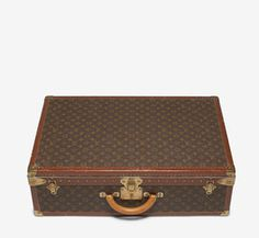 Louis Vuitton Brown Luggage.