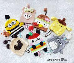 New crochet kids accessories ideas 69 Ideas Crochet Lace Scarf, One Skein Crochet, Granny Square Crochet Pattern, Crochet Toys, Newborn Crochet Patterns, Crochet Dolls Free Patterns, Crochet Keychain, Crochet Bookmarks, Crochet Key Cover