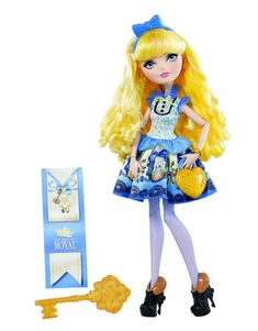 Ever After High Blondie Lockes Doll http://thedollprincess.com/shop/ever-after-high-blondie-lockes-doll/