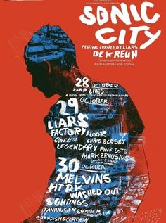 Sonic City Festival #Gig #Poster #Graphic #Design