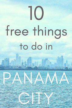 10 free things to do in Panama City #Panama #free #panamacity #activities