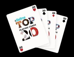The Dielines Top 20 Playing CardDecks - The Dieline – so many amazing decks, I want them all!