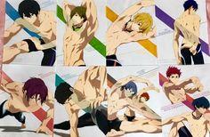 Aii and momo look like ballet dancers Hot Anime Boy, Anime Love, Anime Guys, Makoto Tachibana, Makoharu, Yamazaki Sousuke, Nagisa Free, Momotarou Mikoshiba, Free Eternal Summer