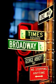 Broadway and Times Square. NYC,NY