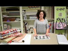 Tutorial para plastificar telas y hacer un mantel individual de Jan et Jul - YouTube