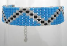 Ibiza style armband, kralen geweven Azteken ontwerp