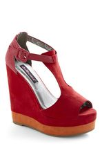 wedges for the lifesaver dress