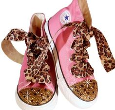 Gonna make these w/ red chucks :) Studded Converse, Red Chucks, Bling Converse, Baby Converse, Custom Converse, Converse Sneakers, Custom Shoes, Zapatos Bling Bling, Bling Shoes