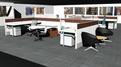 Rendering created in CET Designer by our user of the month Chad Bewley from Business Interiors of Idaho.
