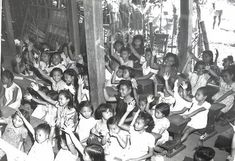 War-damaged school in Pangasinan, 1945 #kasaysayan #pinoy #classpicture Class Pictures, School Building, Pinoy, Over The Years, War