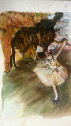 Degas estudio.