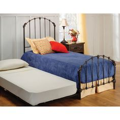 A classic style, this bed features a traditionally designed silhouette that will remain in vogue for years to come.