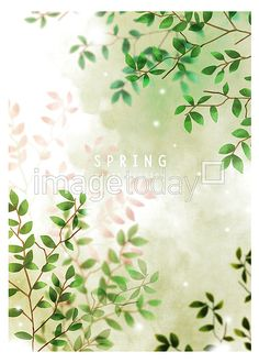 PSD 일러스트 illust illustration 봄 계절 식물 페인터 포스터 초록색 spring season plant paint poster green 이미지 디자인 image design 이미지투데이 통로이미지 #imagetoday #tongroimages