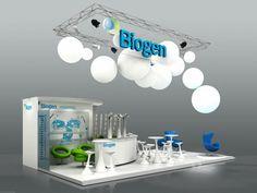 BIOGEN Trade Show, Ci Logo, Ceiling Lights, Conception, Mirror, Exhibitions, Design, Europe, Home Decor