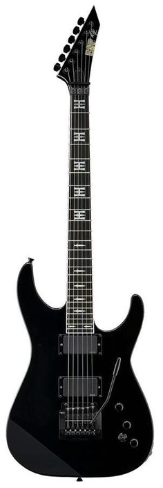 """ESP/LTD's: """"JH Jeff Hanneman Tribute Matte Black"""" Model; NEVER SAW Him Play This On The Road, As He Would Use His Trusty Jackson, WIth The Raiders Sticker On It, As He Said In A Guitar World Interview: """"It Could Withstand The Punishment On The Road, BETTER!!""""..... ;)"""