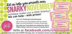 Like the page. Tag me and tell how i keep you pampered and we can both win a snarky t shirt and 3 snarky bars. #win #free #perfectlyposhconsultant #perfectlyposh #spa #beauty
