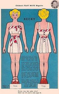 Fun old paper dolls