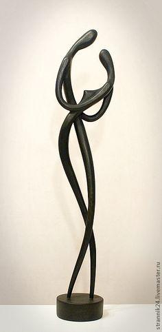 """Купить или заказать """"Танго"""" скульптура из дерева в интернет магазине на Ярмарке Мастеров. С доставкой по России и СНГ. Материалы: берёза, осина, сосна. Размер: 60х20"""