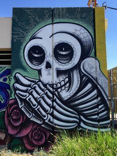 Midtown Phoenix - Phoenix, AZ | Wallart | Urban Art | Mural | Street Art | Artist: Lalo Cota
