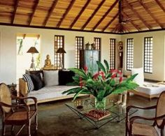 Inspired by the British Empire: Colonial-inspired house and interior design