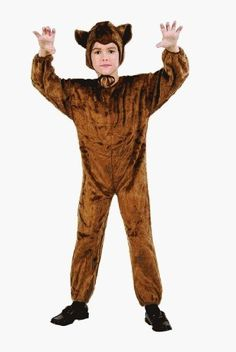 [HALLOWEEN] Bear Jumpsuit Child Costume - $23.55 with FREE SHIPING WORLDWIDE! 2 DAYS for ALL USA DELIVERY!!! visit our site ->>> http://HALLOWEEN-CLOTHES.CF