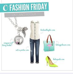 origami owl jewelry with outfits