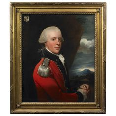 John Singleton Copley (1737-1815)    18th century  Portrait of Henry Belasyse  2nd Earl Fauconberg (1743-1802)  Ex. Collection:   The artist; by descent in his family to his great granddaughter, Susan Greene Dexter; donated to the Museum of Fine Arts Boston by Susan Greene Dexter in memory of Charles and Martha Babcock Amory in 1925; deaccessioned by the Museum of Fine Arts; Christie's, London, June 11, 2004; to private collection.