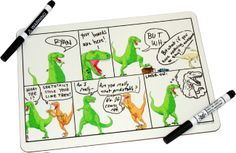 Oh... I wish I was talented enough to write Dinosaur Comics. With this, I can pretend.