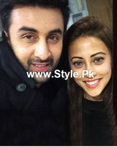 Ainy Jaffry is famous Pakistani actress and model who was spotted with Ranbir Kapoor. See Pictures of Ainy Jaffry with Ranbir Kapoor.