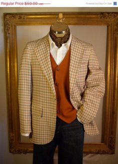 I'm looking for an autumn ensemble for Paul. I think this is gorgeous (tie instead of ascot though!).
