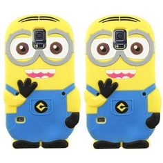 Coque Funda Case for Samsung Galaxy J1 J3 J5 J7 2016 S4 S5 mini Note 3 4 5 7 S6 S7 Edge Despicable Me Minions Soft Silicon Cover