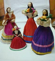 tutoriales de muñecas mexicanas de papel - Google Search