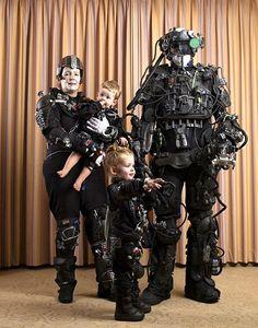 Borg family! Genius. Photo: Trekkie Family