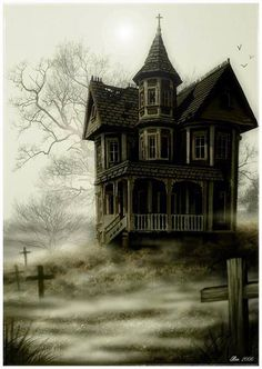 Halloween-Haunted house