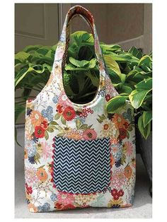 Reversible Summer Hobo Bag - PDF Sewing Pattern
