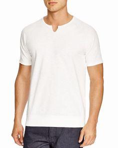 John Varvatos Short Sleeve Raglan Sweatshirt