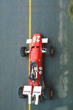 Jacky Ickx - Ferrari 312B - Monaco 1970