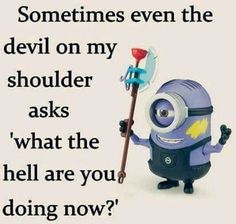 humor safadeza For all Minions fans this is your lucky day, we have collected some latest fresh insanely hilarious Collection of Minions memes and Funny picturess Funny Minion Memes, Minions Quotes, Funny Jokes, Hilarious, Minions Pics, Minion Stuff, Minion Humor, Fun Funny, Funny Stuff