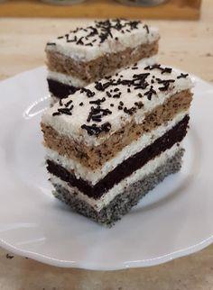 Csokis krémes süti, olyan káprázatosan mutat, hogy azonnal megkóstolnám! - Egyszerű Gyors Receptek