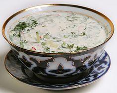 uzbek cuisine, uzbekistan textile tours Chalop soup
