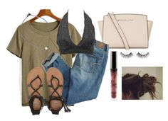 Ugg when school comes by brittanyr1204 on Polyvore featuring polyvore, fashion, style, American Eagle Outfitters, Charlotte Russe, Billabong, MICHAEL Michael Kors, Huda Beauty and clothing
